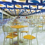 Custom Sound Absorption Ceiling Baffles and Clouds