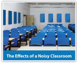 Noisy classroom sound solutions