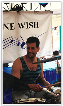 One Wish Jazz Band Playing
