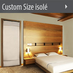 Custom Size isolé Sound Absorption