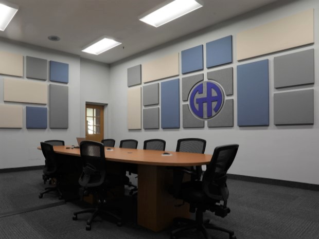 Conference Room Wall Acoustic Panels Audimute