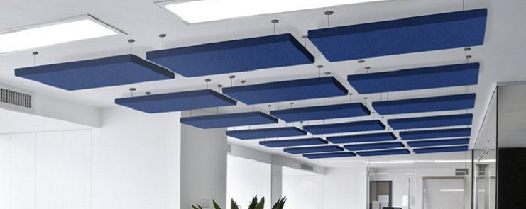 AcoustiColor Acoustic Ceiling Clouds