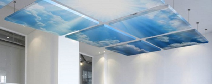 Image Acoustic Ceiling Clouds