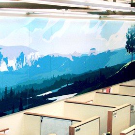 Leavitt Group Office Mural