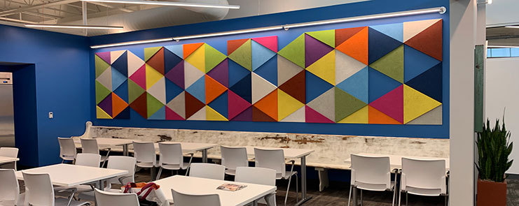 How To Paint On Custom Acoustic Art Panels