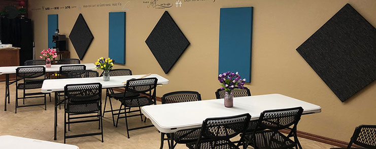 Gallery Wrapped Acoustic Panels