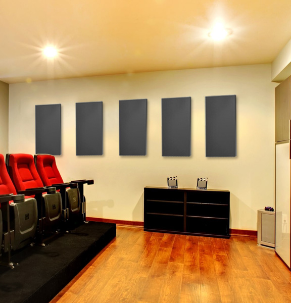 Acoustic Panels in Home Theater