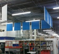 Acoustic Baffles for Ceilings